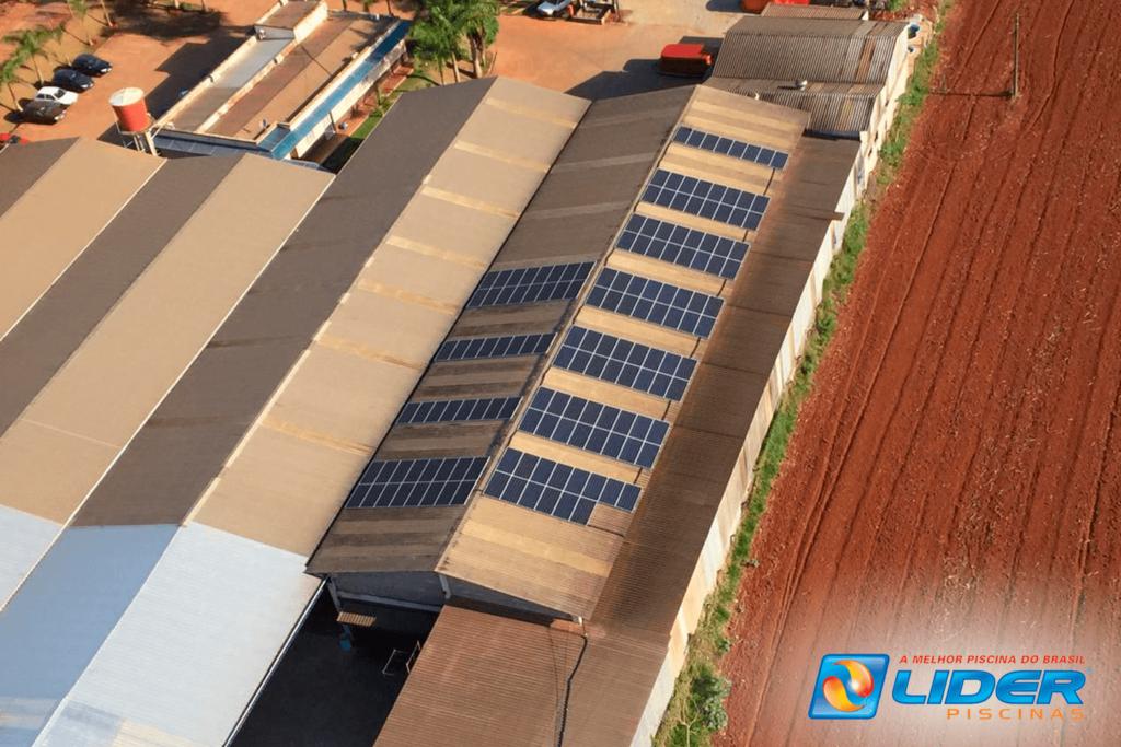 Lider Piscinas - Energia fotovoltaica 1